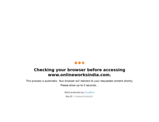 onlineworksindia.com screenshot