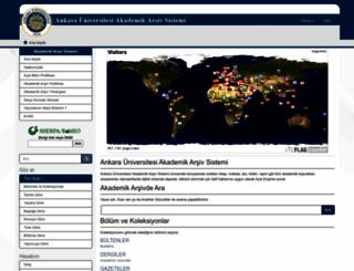 onlineyayinevi.ankara.edu.tr screenshot