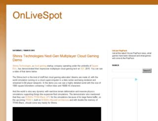 onlivespot.net screenshot