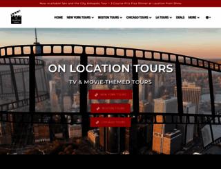onlocationtours.com screenshot