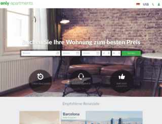 only-apartments.de screenshot
