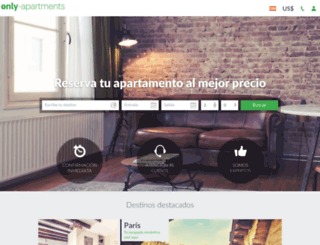 only-apartments.es screenshot