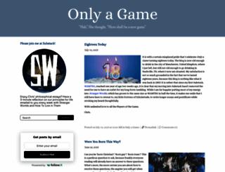 onlyagame.typepad.com screenshot