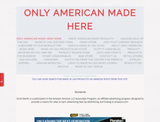 onlyamericanmadehere.com screenshot