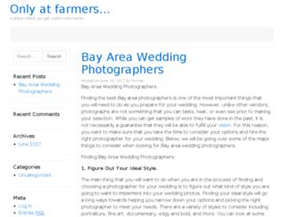 onlyatfarmersmarkets.com screenshot