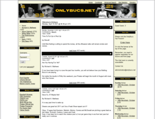 onlybucs.net screenshot