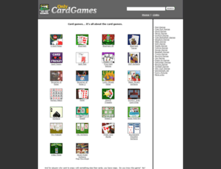 onlycardgames.com screenshot