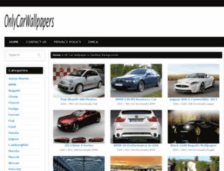 onlycarwallpapers.com screenshot