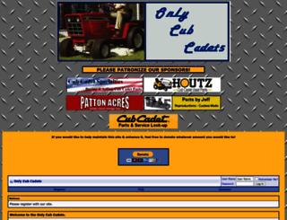 onlycubcadets.net screenshot