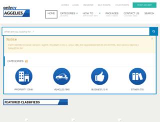 onlycy-aggelies.com screenshot