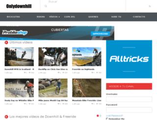onlydownhill.com screenshot