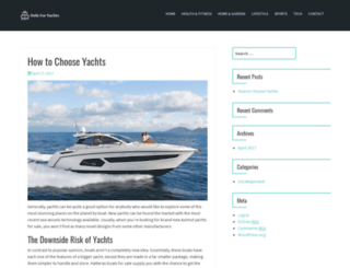 onlyforyachts.com screenshot