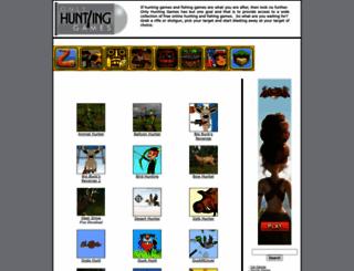 onlyhuntinggames.com screenshot