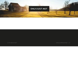 onlyjust.net screenshot