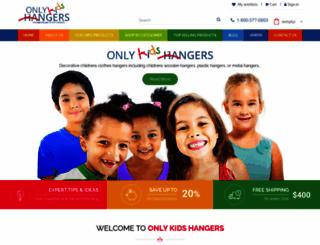 onlykidshangers.com screenshot