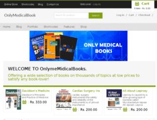 onlymedicalbooks.com screenshot