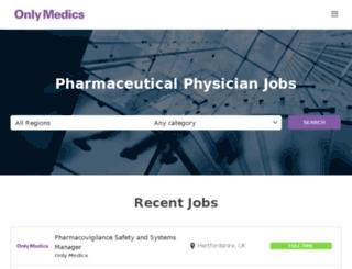 onlymedics.co.uk screenshot