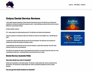 onlyoz.com.au screenshot