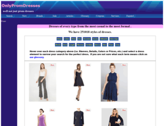 onlypromdresses.com screenshot