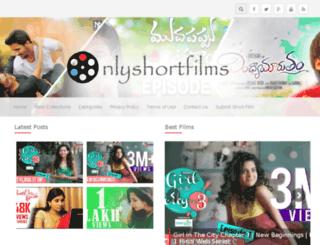 onlyshortfilms.in screenshot
