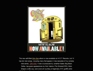 onlysonmusic.com screenshot
