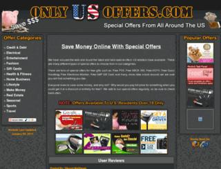 onlyusoffers.com screenshot
