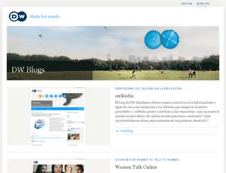 onmedia.dw-akademie.de screenshot