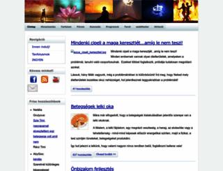 onmegvalositas.hu screenshot