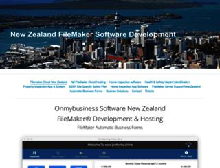 onmybusiness.com screenshot