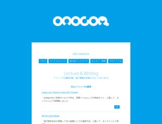 onocom.net screenshot