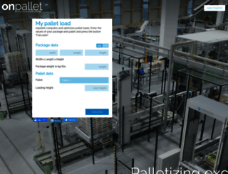 onpallet.com screenshot