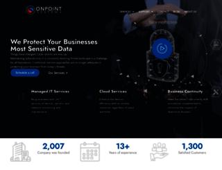 onpointsys.com screenshot