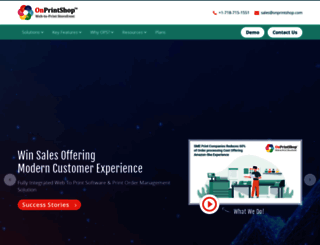 onprintshop.com screenshot
