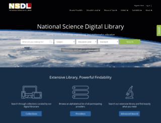 onramp.nsdl.org screenshot