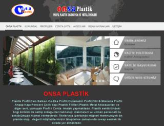 onsaplastik.net screenshot