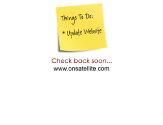 onsatellite.com screenshot