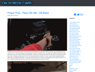 onscreencars.com screenshot