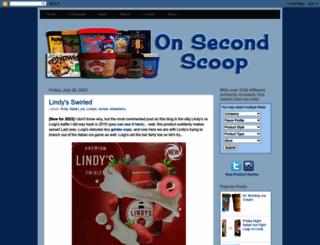 onsecondscoop.com screenshot