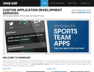 onseeker.com screenshot