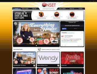 onsetproductions.com screenshot