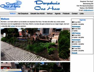 onshuus.nl screenshot