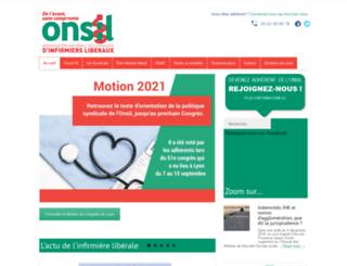 onsil.fr screenshot