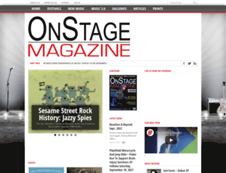 onstagemagazine.com screenshot