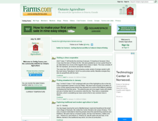 ontag.farms.com screenshot