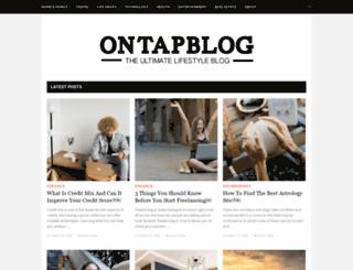 ontapblog.com screenshot