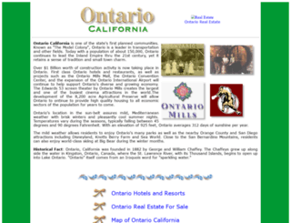 ontario-california.com screenshot