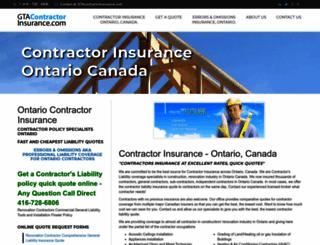 ontariocontractorinsurance.com screenshot