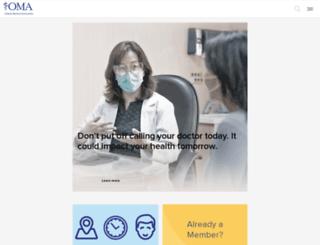 ontariosdoctors.com screenshot