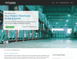 ontariowarehouse.com screenshot