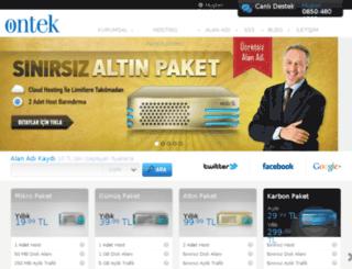ontek-serv.com screenshot
